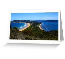 Tombolo - Palm Beach - Sydney - Australia Greeting Card