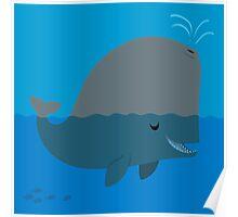 Cute: Sperm Whale Poster