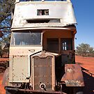 Abandoned Old Sydney Bus by Blue Gum Pictures