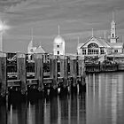 The Waterfront Geelong by Margaret Metcalfe