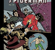 Italian Spiderman comic cover by Coldtown