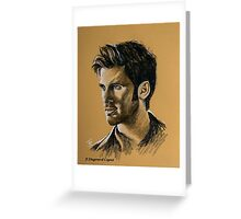 Colin O'Donoghue featured in Art Universe Greeting Card