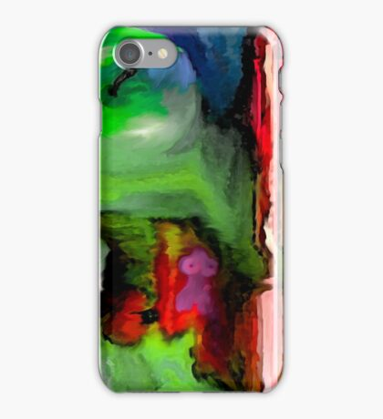 Evolution, page 14-15 from Everything IS, a visual and philosophical theory of everything iPhone Case/Skin