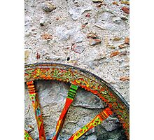 Sicilian Wheel Photographic Print
