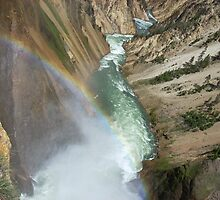 Rainbow - Yellowstone river valley by Unperfect
