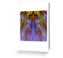 Phoenix Feathers 2000 Greeting Card