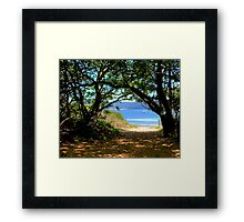 Station Beach - Sydney - Australia Framed Print