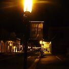 Virginia City Nevada ~ After Dark On The Boardwalk by Elaine Bawden