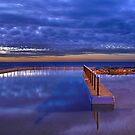 Curl Curl Ocean Baths by Dianne English