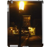 Virginia City Nevada ~ After Dark On The Boardwalk iPad Case/Skin