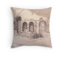 Kastro Potami, Samos, Gr. Throw Pillow