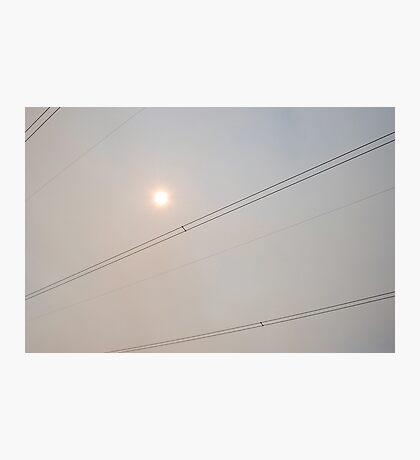dark sun Photographic Print