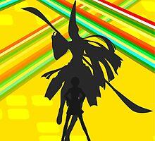 Persona 4 - Chie by Luke Stevens