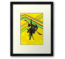 Persona 4 - Chie Framed Print
