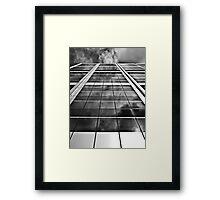 Perth City Skyscraper - CBD, Perth, Western Australia Framed Print