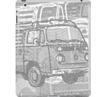 Grey Bay Campervan Montage iPad Case/Skin