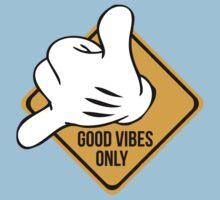 Good Vibes - Hang Loose Fingers Baby Tee