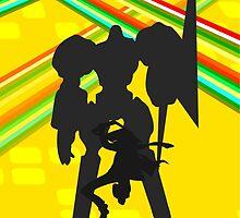 Persona 4 - Kanji by Luke Stevens