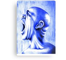 Blue Language Metal Print