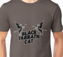 black tabbath cat Unisex T-Shirt