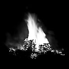 Bonfire burns bright on the Talyllyn Railway by Andrew Simner