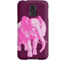 Big Pink Elephant Samsung Galaxy Case/Skin