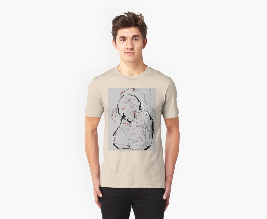 a stone's throw - blues for picasso : the tee by mhkantor