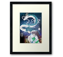 Spirited Away Fan Art Print Framed Print