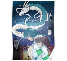 Spirited Away Fan Art Print Poster