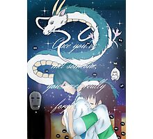 Spirited Away Fan Art Print Photographic Print