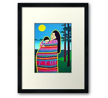 Mother And Child 6 Framed Print