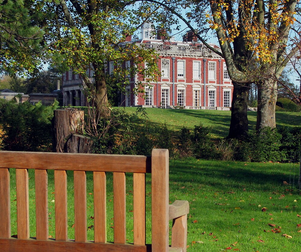 A view of Stansted House by Caroline Anderson