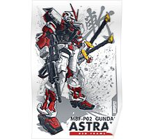 ASTRAY Red Frame Poster