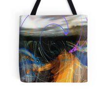 chaos at sea.... an abstract Tote Bag
