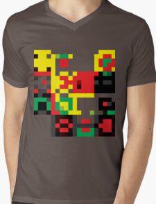 ROBO Mens V-Neck T-Shirt