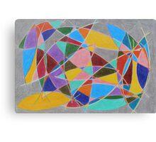 Arcs catching color Canvas Print