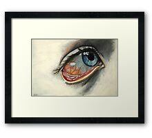 Late Nights Framed Print