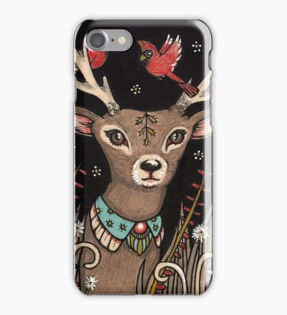 The Smallest Stag iPhone Case/Skin