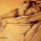 Pencil Study by Susan Bergstrom