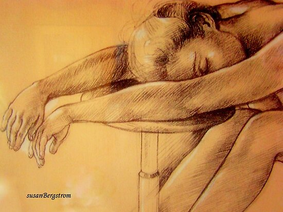 Pencil Study by Susan Bergstrom