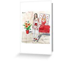 Katerina new Greeting Card