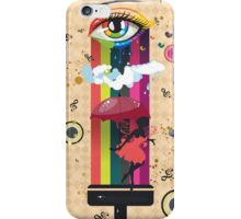 Colorful Surreal Fairy iPhone Case/Skin