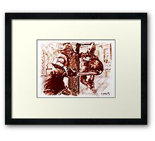 Romas Art - Gladiators Framed Print