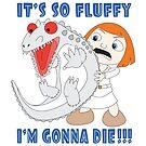 It's So Fluffy I'm Gonna Die!!! Dinosaur by Kimberly1337