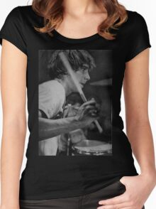 Moony...... Women's Fitted Scoop T-Shirt