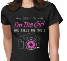 Women's Photography T Shirt Womens Fitted T-Shirt