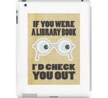 Library Book iPad Case/Skin