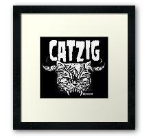 catzig Framed Print