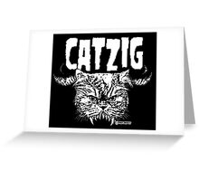 catzig Greeting Card