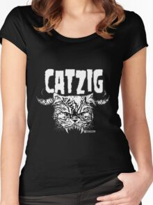 catzig Women's Fitted Scoop T-Shirt